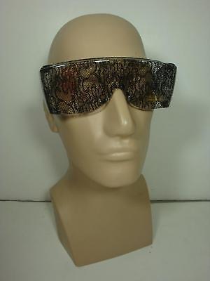 80's 80s Lady Gaga Lace Big Glasses Sunglasses Costume Accessory NEW