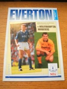 30101991 Everton v Wolverhampton Wanderers Football League Cup  No obvious - <span itemprop=availableAtOrFrom>Birmingham, United Kingdom</span> - Returns accepted within 30 days after the item is delivered, if goods not as described. Buyer assumes responibilty for return proof of postage and costs. Most purchases from business s - Birmingham, United Kingdom