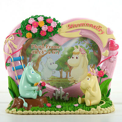 MOOMIN VALLEY 4R RESIN PHOTO FRAME - MOOMIN & FLORA 5498