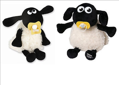 ✿SET OF 2 BABY SHAUN THE SHEEP IRON ON TRANSFERS - IDEAL FOR VESTS, T SHIRTS BAG