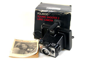 polaroid square shooter 2 land camera   ebay