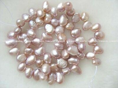 "5 strands 14.5"" freshwater pearl lavender baroque nature"