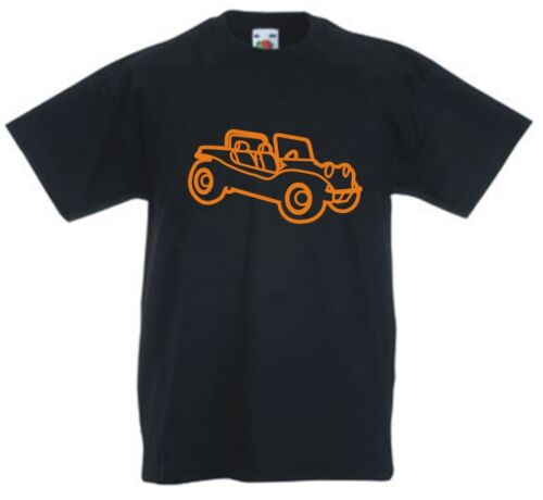 BEACH BUGGY bug VW cool car auto racing Childrens Kids t-shirt 1-13 years