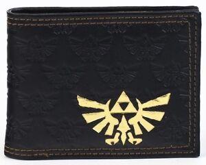 Official-Nintendo-THE-LEGEND-OF-ZELDA-TWILIGHT-PRINCESS-TRIFORCE-Game-Men-Wallet