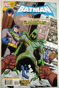 BATMAN-The-BRAVE-And-The-BOLD-14-Comic-CHANUKAH-Holiday-Special-RAGMAN-Rare