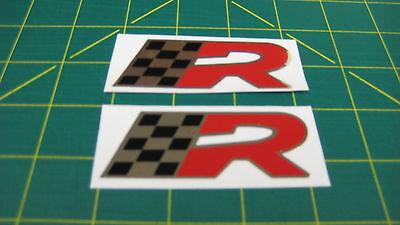 Seat Ibiza Leon Cupra R Sport wing door panel tailgate window Decals Stickers