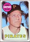 1969 Topps Larry Shepard Pittsburgh Pirates #384 Baseball Card