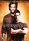 Supernatural - Series 6 Vol.2 (DVD, 2011, 3-Disc Set)