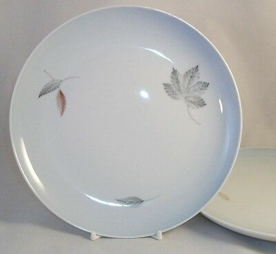 Bing & Grondahl FALLING LEAVES 2 Luncheon Plates GREAT CONDITION