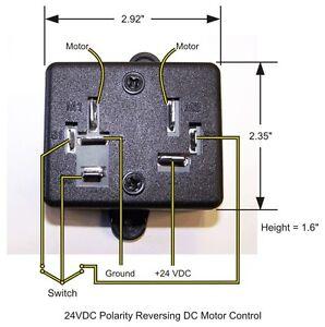 24 Vdc Reverse Polarity Dc Motor Control Ebay