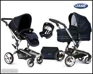 BRAND-NEW-JANE-RIDER-FORMULA-MICRO-3-IN-1-COMBI-TRAVEL-SYSTEM-IN-CLASSIC-I-P48