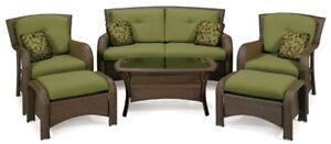 New-Patio-Furniture-Set-La-Z-Boy-Outdoor-6-Piece-Deep-Seating-Seats-Coffee-Table