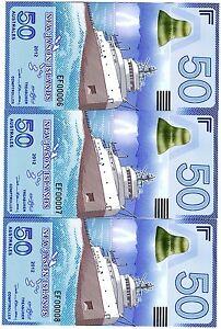 LOT-New-Jason-Islands-3-x-50-Australes-2012-POLYMER-UNC-Ship