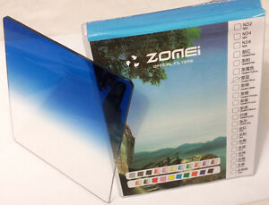 Zomei-P-Series-Graduated-Blue-Filter-To-Fit-Cokin-amp-Kood-P-Series-In-UK
