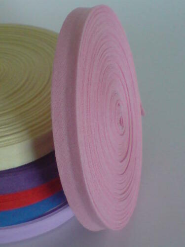 Lovely Bias Binding 13mm Cotton 1m Over 22m Full Roll Trim Tape Assorted Colours