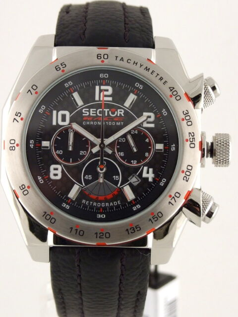 SECTOR RACE CHRONO RETROGRADE MEN'S WATCH