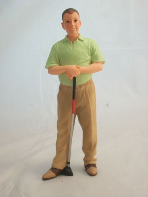 Resin Doll - Ted ( Golfer ) -  3034  1/12 scale Houseworks Sports golf sports