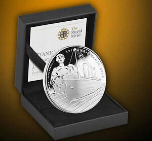 British-Royal-Mint-Titanic-100th-Anniversary-Silver-Proof-Coin-Ltd-Edition-COA