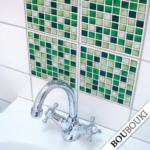 tile stickers for bathroom original boubouki mosaic sticker tile decals for bath or 20894