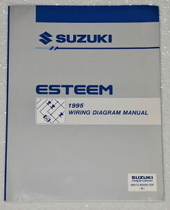 1995-SUZUKI-ESTEEM-Factory-Electrical-Wiring-Diagrams-Shop-Manual-GL-GLX-PLUS-95