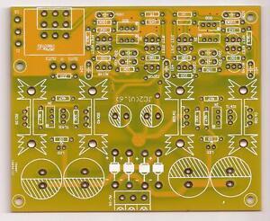 Symmetric-Complementary-J-FET-preamplifier-JC-2-PCB-stereo