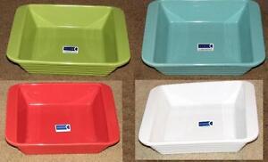 Chantal-2-Quart-Square-Baking-Dish-8x8x2-Red-Green-Teal-White-Yellow