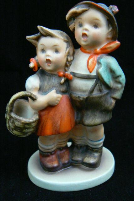 """Vintage Hummel Goebel Germany Porcelain Surprise Boy & Girl Figurine 4"""" #94 3/0"""