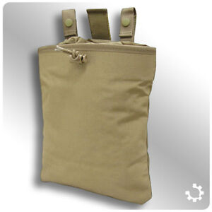 Condor-Tactical-Mag-Recovery-Dump-Pouch-Coyote-Tan-New