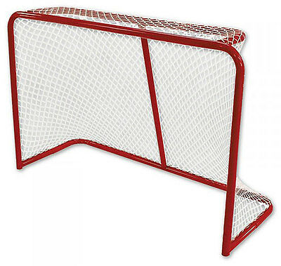 "New DR Pro 2080AZ 72"" regulation net steel hockey goal official 2"" sz street in"