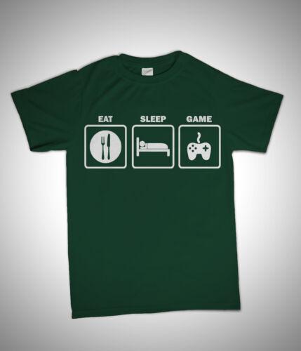 EAT SLEEP GAME XBOX PS3 COD MW3 FIFA BIRTHDAY GIFT T SHIRT KIDS 3 YEAR 15 YEAR