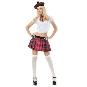 image is loading sassie lassie scottish kilt school girl plaid dress - Scottish Girl Halloween Costume