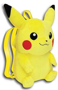 Pokemon-15-034-Pikachu-Bag-Backpack-Official-Merchandise