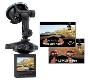 Genius-HD-Vehicle-Recorder-w-6-IR-Lamps-120-Degree-Viewing-Angle-2-4-034-LCD