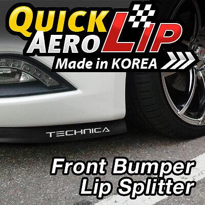 CHIN LIP SPLITTER VALENCE BODY KIT M30 G35 INFINITI FRONT BUMPER SPOILER