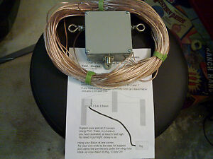 HF-Ham-radio-Sky-Loop-antenna-40-20-15-and-10-meters-and-2-5-to1-balun-hang-n-go