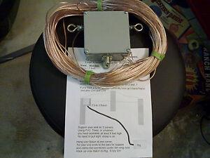 HF-Ham-radio-Sky-Loop-antenna-40-20-15-and-10-meters-and-2-5-to1-balun-hang-n-go
