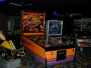 1979-Atari-Hercules-Arcade-Pinball-Machine-Grade-1-Restoration-Rare-LARGE-Pin