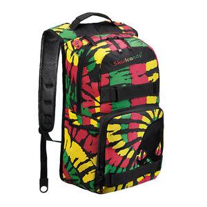 New-Skullcandy-Skulldaylong-II-Backpack-Rasta