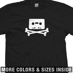 Pirate-Bay-Tape-Cross-Bones-T-Shirt-All-Sizes-amp-Colors