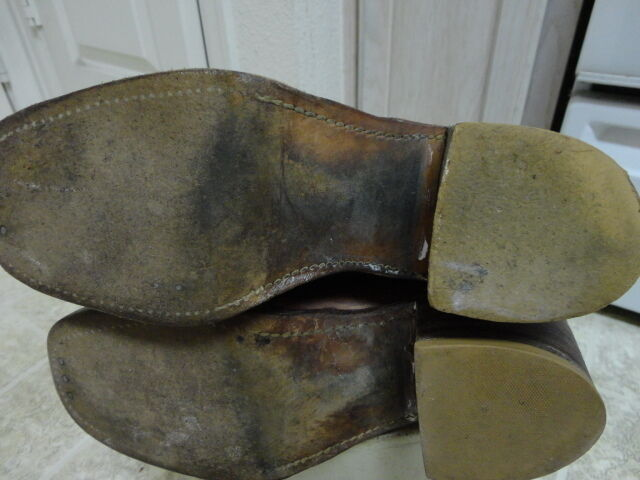 VINTAGE 60'S FRYE schwarz LABEL Stiefel MOTORCYCLE WESTERN GREAT COND COND COND NOT MUCH USED d1b0cf