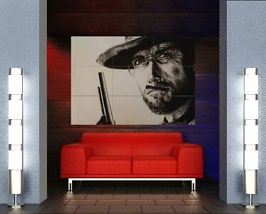 Clint Eastwood Good Bad Ugly Giant Poster Z208