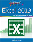 Teach Yourself Visually Excel 2013 by Paul McFedries (Paperback, 2012)