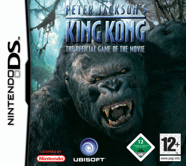 Peter Jackson's King Kong - The Official Game  (Nintendo DS, 2005)(H) 468