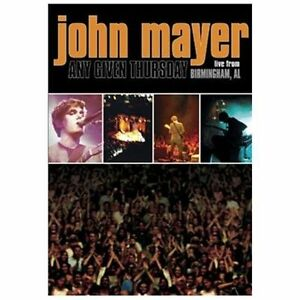 John-Mayer-034-Any-Given-Thursday-034-DVD-BRAND-NEW-STILL-SEALED