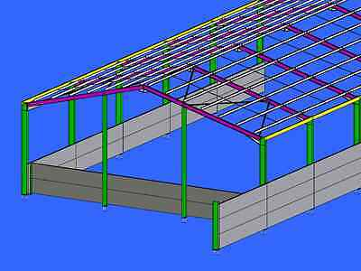 Davis structures steel buildings planning drawings agricultural and industrial