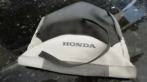 Honda C70 Passport 1980-1982 Seat saddle COVER Gray/White H2721