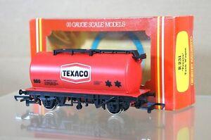 HORNBY R231 TEXACO PETROL OIL TANK WAGON 500 MINT BOXED ms