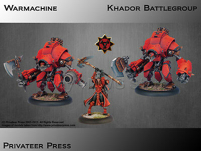 Privateer Press – Warmachine – Khador Battlegroup Battle Box Set