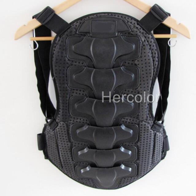 Motorcycle Bike Back Protector Body Armor Racing Vest L