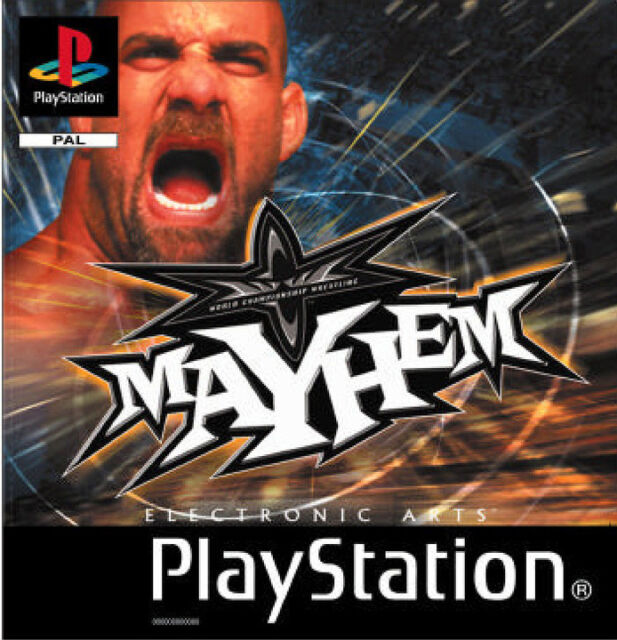 WCW Mayhem - Sony PlayStation 1 PS1 - NUR CD gebraucht